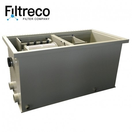 Filtreco Budget Combi Drum Filter 25 Gravity