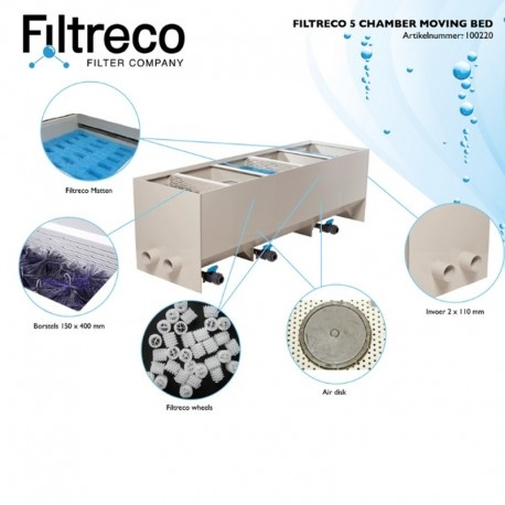 Filtreco Filter 5 Chamber Moving Bed