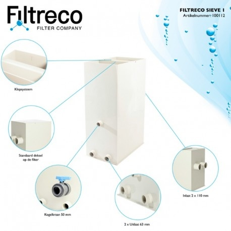 Štěrbinový filtr Filtreco Sieve 1