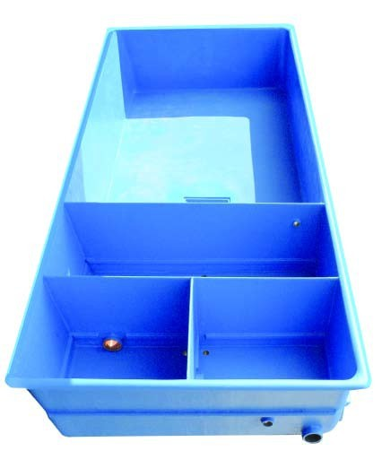 EPS laminátový bazén s vnitřním filtrem