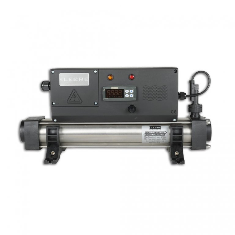 KD Průtokový ohřívač vody s digitálním termostatem 3-kW