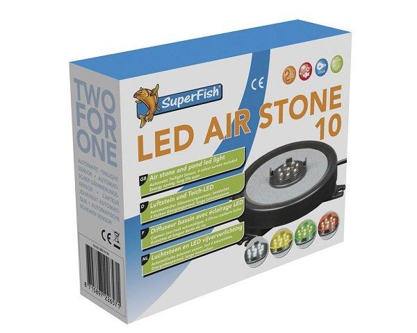 LED vzduchovací disk 10cm