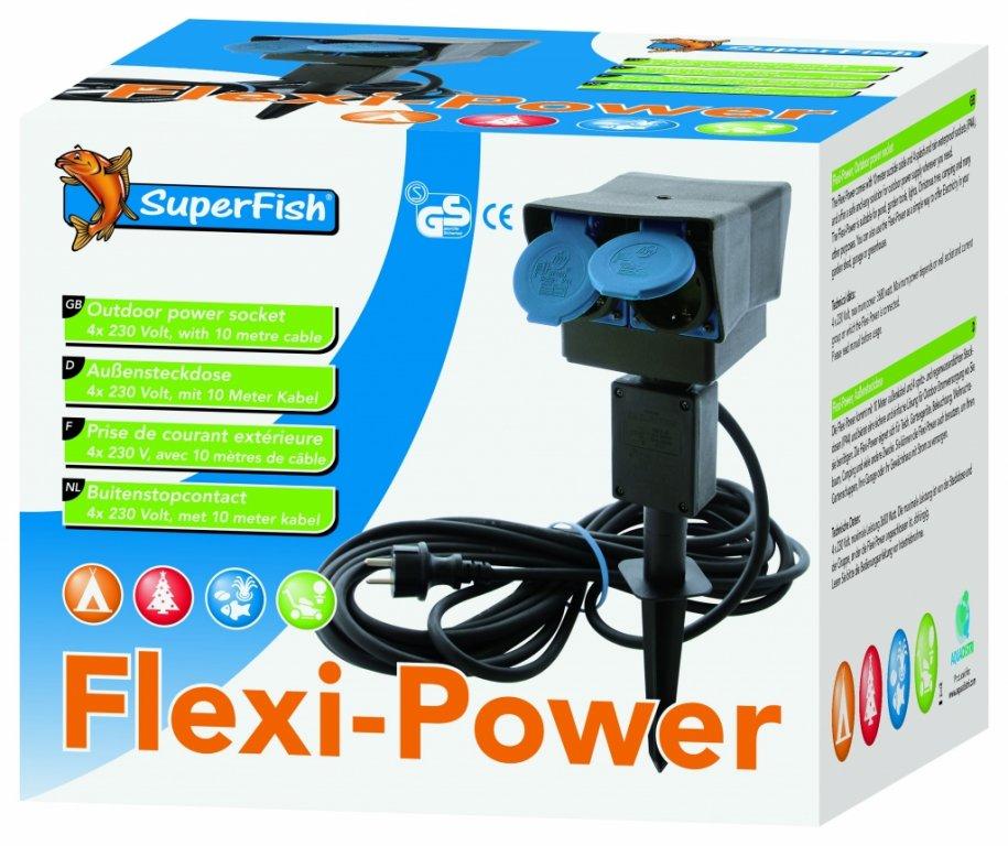 SuperFish POND SF FLEXI POWER 4x zásuvka
