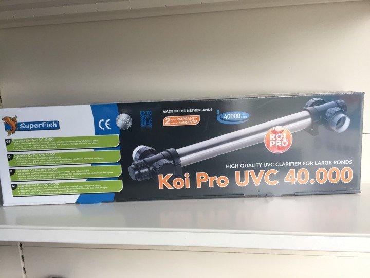 SuperFish POND SF KOI PRO RVS UVC T5 40 W / 40.000 LTR