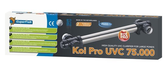 SuperFish KOI PRO RVS UVC  T5 75 W / 75.000 L