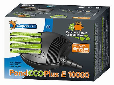 SuperFish  POND ECO PLUS E 10.000 - 68W