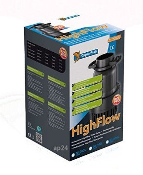 SuperFish  HIGH FLOW PUMP 20.000 / 158W trubkové čerpadlo
