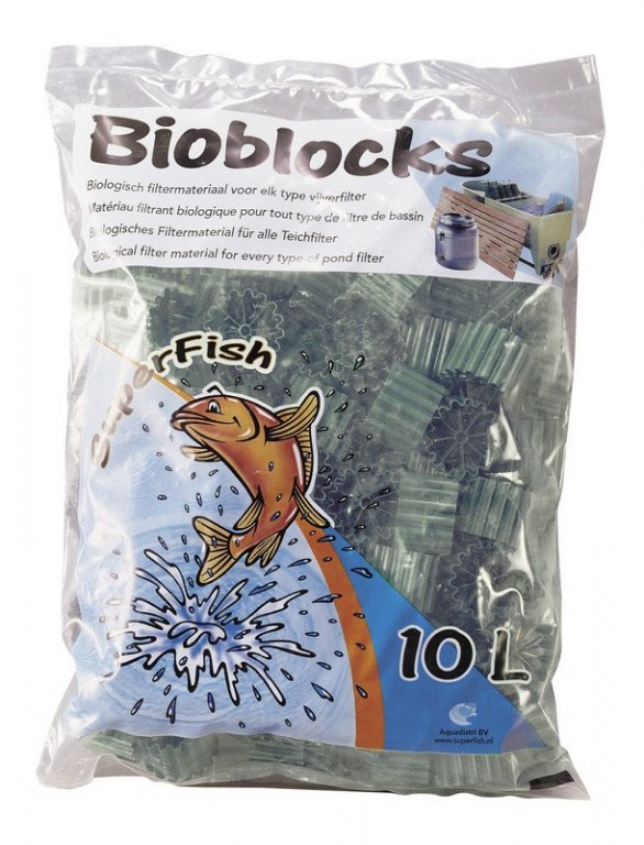 SuperFish POND SF FILTER biobloky sáček 10 L