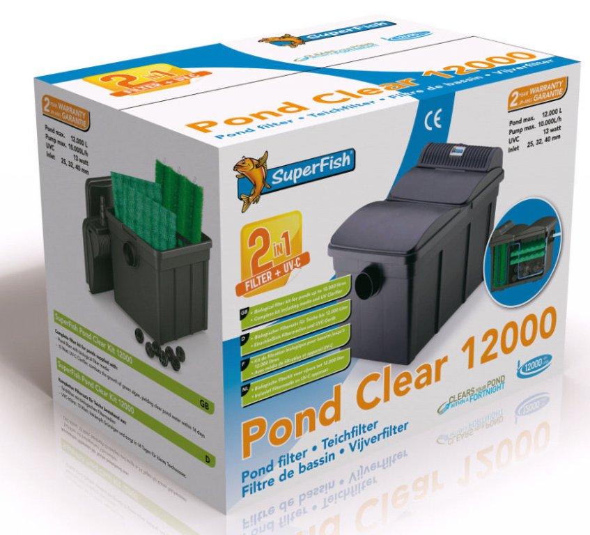 Jezírkový filtr SF PONDCLEAR 12000